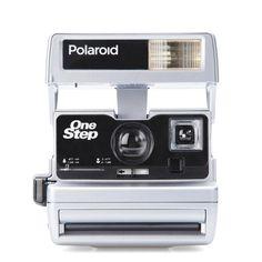 Polaroid 600 Camera - Custom Silver Tone