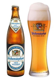 Weihenstephan: too bad they usually only service ,5 liter. Which is a lot. But very good beer.