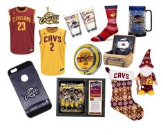 """""""CAVS"""" by cathi-langworthy-felix on Polyvore featuring Coveroo, Forever Collectibles, For Bare Feet, LogoArt, The Memory Company, Picnic Time, men's fashion and menswear"""