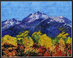 Quilts by JVC ..||.. PATTERNS - Little Landscape Autumn Gold Close-ups