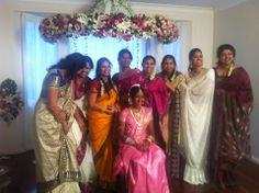 Sri lankan , tamil ceremony, flower alter.
