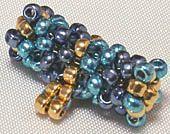 Tubular Right-Angle WeaveHow to make a beaded shank button; pattern for tubular herringbone stitch Free Beading Tutorials, Beading Patterns Free, Jewelry Making Tutorials, Jewelry Patterns, Diy Jewelry, Beaded Jewelry, Jewelry Design, Beaded Necklace, Jewellery