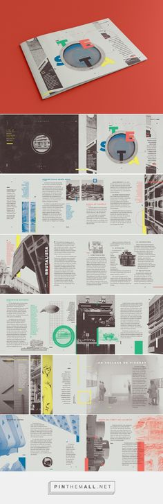 Zine architecture// Testa on Behance - created via https://pinthemall.net