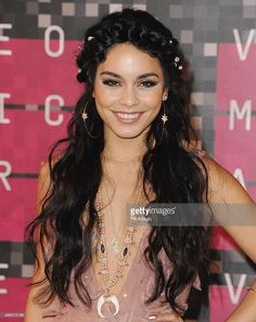 Actress Vanessa Hudgens arrives at the 2015 MTV Video Music Awards at Microsoft Theater on August 30, 2015 in Los Angeles, California.  (Photo by Jon Kopaloff/FilmMagic)