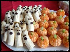 Style House & Homes: Children's Halloween Party Ideas, healthy treats