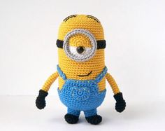 Amigurumisfanclub Kevin : Minion free crochet pattern collection all the best ideas free