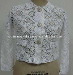 capa de la caída del patrón del bolero del ganchillo de la señora-Abrigos-Identificación del producto:632305237-spanish.alibaba.com