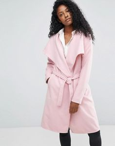 Buy JDY Long Trench Coat at ASOS. With free delivery and return options (Ts&Cs apply), online shopping has never been so easy. Get the latest trends with ASOS now. Latest Outfits, Latest Fashion Clothes, New Outfits, Fashion Online, Fashion Outfits, Long Trench Coat, Coats For Women, Jackets For Women, Coats