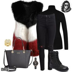 Luxusná kožušinová vesta v trendy farbách. Nie je outfit ako outfit. Niektoré módne inšpirácie sú klasika a niektoré zasa brutálne sexi. A toto je jeden z tých brutálnych.😎 Vždy hovorím, že stačia nenápadné a jednoduché kúsky. V tomto prípade čierny rolák a úzke džínsy s dierami na kolenách. Tzv. ,,combat boots,, sú stále v kurzeViac