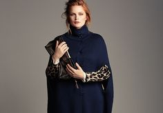Plus SIze Luxury Designer Marina Rinaldi Fall Collection Launches at Saks Fifth Avenue...