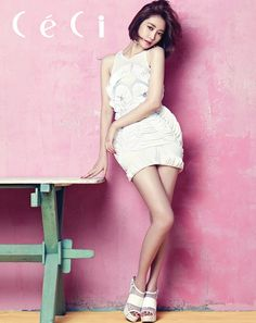 Go Joon-hee // CeCi Korea // July 2013
