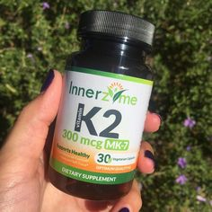 #Healthy Friday Everyone! Take a proactive natural approach to support #heart #health with daily #supplementation of #Innerzyme Vitamin K2 MK-7 300mcg. Just 1 #vegetarian capsule/day! If you are supplementing with #Vitamin D and/or #calcium your body's need for K2 increases. Remember it is the role of #Vitamin #K2 to channel calcium into your #bones and teeth while keeping it out of your #arteries. Invest in your health and improve your quality of life. Innerzyme Vitamin K2 is available…