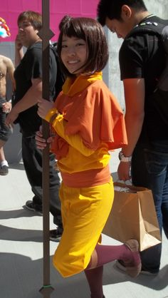 Such an adorable Jinora cosplay!