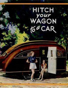 1937, 16ft Streamline Trailer