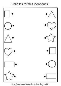 Worksheets 369928556872737340 - Relie les formes identiques Source by Preschool Number Worksheets, Preschool Writing, Worksheets For Kids, Alphabet Worksheets, Kindergarten Worksheets, Science Worksheets, Kindergarten Science, Kids Writing, Science Lessons