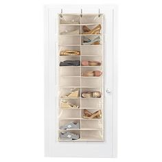 Umbra 24Pair Scala Over the Door Shoe Organizer Shoes organizer