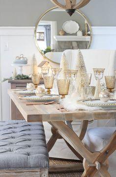 Winter Wonderland Tablescape   Rooms FOR Rent Blog
