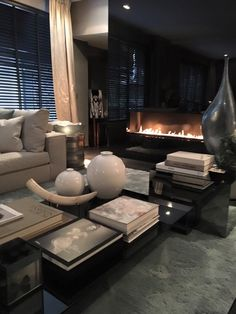 The Netherlands / Huizen / Show Room / Living Room / Eric Kuster / Metropolitan Luxury Living Room Inspiration, Interior Design Inspiration, Living Room Modern, Living Room Decor, Interior Design Living Room, Living Room Designs, Luxury Living, Interior Styling, Decoration