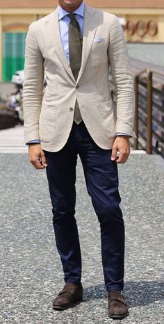 Cream Jacket Outfit, Beige Blazer Outfit, Blazer Outfits Men, Suit Jacket, Sport Outfits, Linen Blazer, Mens Linen Jackets, Linen Suits For Men, Cream Suits For Men