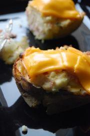 Pommes de terre farcies au four
