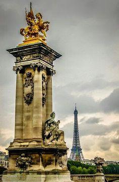 Recorriendo las calles del bello París