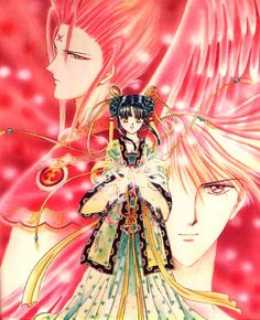 Might be nice to do a Priestess Miaka cosplay one of these days :D