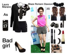 """Laura marano as bad girl Blaze Roriann Dawson aka Rory"" by missawesomer5er ❤ liked on Polyvore featuring Chloé, Kill Star, ONLY, French Toast, Jessica Simpson, Givenchy, Dolce&Gabbana and Napoleon Perdis"