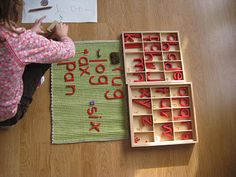 Our Beginner Reading and Writing Montessori Materials from The Wonder Years