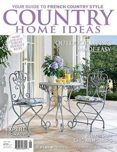 Vol 13: No 4 | Country Home Ideas | The Country Lifestyle Magazine | Covers  | Pinterest | Country Lifestyle