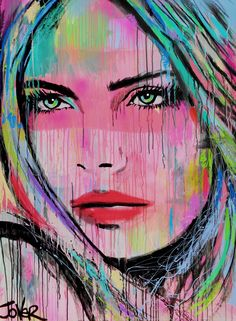 STRAWBERRY SKIES private commission SYDNEY, Loui Jover