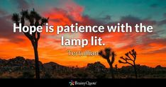 Hope is patience with the lamp lit. - Tertullian #brainyquote #QOTD #hope #patience Brainy Quotes, Boy Quotes, Fact Quotes, Truth Quotes, Poetry Quotes, Winston Churchill, Churchill Quotes, Infj, Mantra