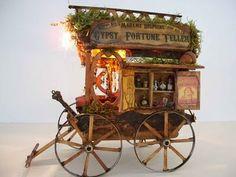 A teeny-tiny traveling faerie wagon.