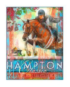 gotta love a great horse show poster
