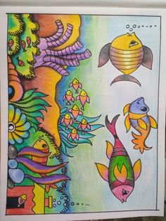 Nature Drawing For Kids, Drawing Classes For Kids, Kids Art Class, Art For Kids, Cute Easy Drawings, Small Drawings, Art Drawings For Kids, Colorful Drawings, Oil Pastel Paintings