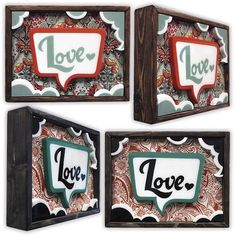 "Artist Alex Yanes Released these original ""Love"" boxes earlier in the week. They went for only $100 bucks and only 20 made. Want to get one? Well, Unfortunately for us they sold out very quickly. No Surprise though, his work is amazing!"