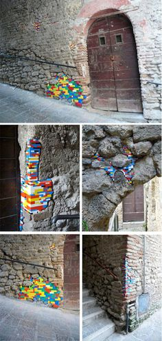 Lego Repairs. this is so funn.. such a playful idea!