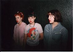 Bikini Kill L.A 1993 taken by tammy rae carland