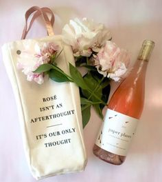 ROSÉ WEEK IS HERE! Kicking it off with a super adorable rosé tote that comes with wine from an all-rosé winery!