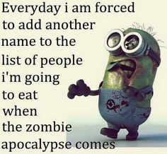 Zombie minion!  Let's do this