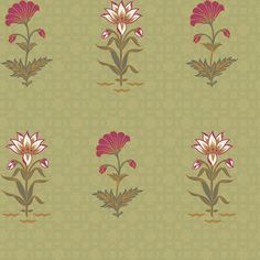 Bagh e Noor Designer Wallpaper from Nilaya by Asian Paints