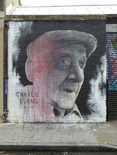artist: ben slow - charlie burns #streetart