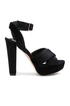RAYE x NBD Heaton Heel in Black
