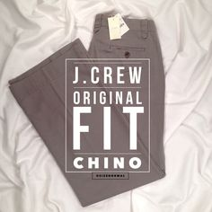 """J.CREW Gray Chino Classic Twill """"Weathered"""" NWT J.Crew knows how to make a good-looking pair of classic twill pants! The neutral gray makes these pants versatile. Flattering vertical pocket slits. Double belt loop detailing. Approx: Inseam 31"""", leg opening 22"""", front rise 10.5, back rise 15.5"""". 100% Cotton. Comes with extra buttons. NWT-small light mark near front left belt loop (pictured), right leg opening has light orange mark (pic), left leg opening has tiny discoloration (pic). J. Crew…"""