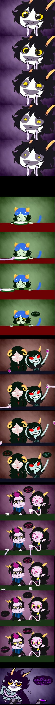 Homestuck- Gamzee XD the video is soo funny it's one of the Ask Gamzee's on YouTube