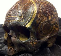 Another skull from Tibet.