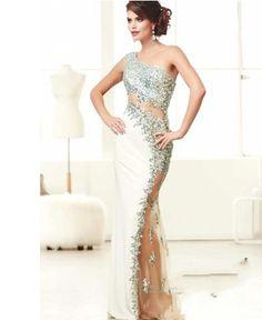 Authentic Sincerity Sleeveless Custom Made Bodies Sheath Full Length Sexy See-Through 2015 Prom Dress