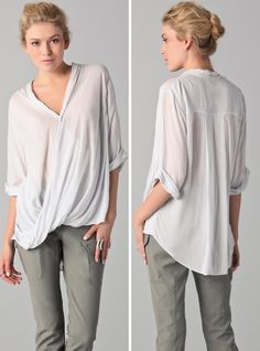 perfect slouchy tee.