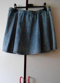 Kup mój przedmiot na #Vinted http://www.vinted.pl/damska-odziez/spodnice/9479173-jeansowa-rozkloszowana-l-xl