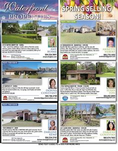 Looking for more land for your animals or for a great new home this spring check out our Waterfront Properties & Spring page in the newest issue of Homes & Land of New Orleans' Northshore!