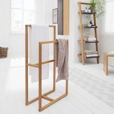 leiter garderobe handtuchleiter von raumgestalt zimmer ideen pinterest. Black Bedroom Furniture Sets. Home Design Ideas